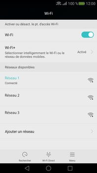Huawei Mate S - Wi-Fi - Accéder au réseau Wi-Fi - Étape 7