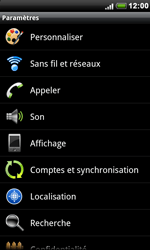 HTC S510e Desire S - Internet - activer ou désactiver - Étape 4