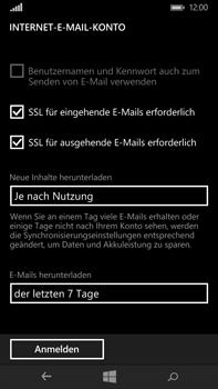 Microsoft Lumia 640 XL - E-Mail - Konto einrichten - Schritt 16
