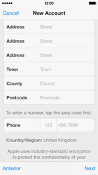 Apple iPhone 5c - Applications - setting up the application store - Step 22