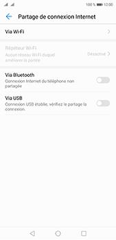 Huawei P20 pro - Internet et connexion - Utiliser le mode modem par USB - Étape 7