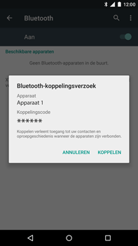 Motorola Moto X Style - Bluetooth - Koppelen met ander apparaat - Stap 7
