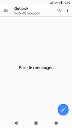 Sony Xperia XZ (F8331) - Android Oreo - E-mail - Configuration manuelle (outlook) - Étape 5