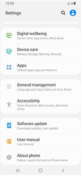 Samsung Galaxy A40 - Device - Software update - Step 5