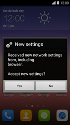 Huawei Ascend Y550 - Internet - Automatic configuration - Step 5