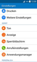 Samsung Galaxy J1 - Ausland - Im Ausland surfen – Datenroaming - 6 / 12