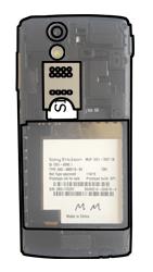 Sony Ericsson Xperia Ray mit OS 4 ICS - SIM-Karte - Einlegen - Schritt 4
