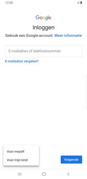 Samsung galaxy-note-8-sm-n950f-android-pie - Applicaties - Account aanmaken - Stap 6