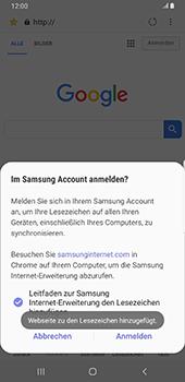 Samsung Galaxy Note9 - Android Pie - Internet und Datenroaming - Verwenden des Internets - Schritt 11
