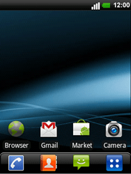 LG C660 Optimus Pro - E-mail - e-mail instellen: POP3 - Stap 1