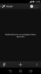 Sony Xperia L - WLAN - Manuelle Konfiguration - Schritt 5