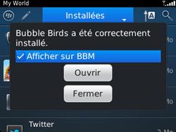 BlackBerry 9320 - Applications - Télécharger une application - Étape 17