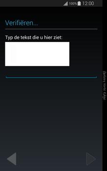 Samsung Galaxy Note Edge - apps - account instellen - stap 16