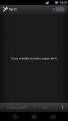 Sony Xperia T - WiFi - WiFi configuration - Step 5
