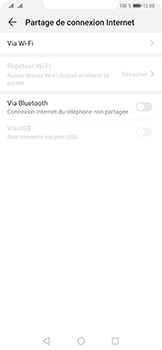 Huawei Mate 20 Pro - Internet - comment configurer un point d'accès mobile - Étape 5