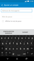 HTC One M8 - E-mail - configuration manuelle - Étape 6
