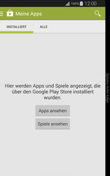 Samsung Galaxy Note Edge - Apps - Nach App-Updates suchen - Schritt 6
