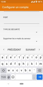 Crosscall Core M4 - E-mails - Ajouter ou modifier un compte e-mail - Étape 16