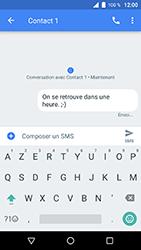 Wiko WIM Lite - Contact, Appels, SMS/MMS - Envoyer un SMS - Étape 9