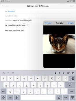 Apple iPad Air iOS 12 - E-mail - e-mail versturen - Stap 10