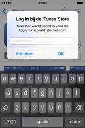 Apple iPhone 4S (iOS 9) - apps - account instellen - stap 26