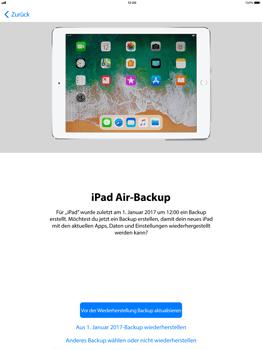 Apple iPad Pro 12.9 inch - iOS 11 - Persönliche Einstellungen von einem alten iPhone übertragen - 17 / 29
