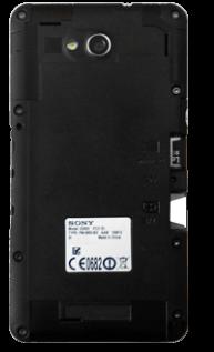 Sony Xperia E4G - SIM-Karte - Einlegen - 5 / 8