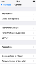 Apple iPhone 5 iOS 10 - Applications - Comment désinstaller une application - Étape 4
