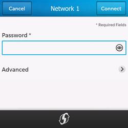 BlackBerry Q10 - WiFi - WiFi configuration - Step 8