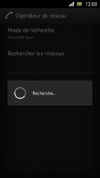 Sony Xperia U - Réseau - Sélection manuelle du réseau - Étape 8