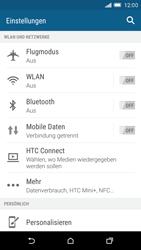 HTC One M9 - Internet und Datenroaming - Prüfen, ob Datenkonnektivität aktiviert ist - Schritt 4