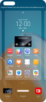Huawei P40 Pro - Applications - Personnaliser l