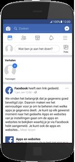 Huawei Mate 20 Lite - apps - deactiveer automatisch afspelen in Facebook - stap 3