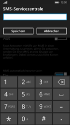 Nokia Lumia 830 - SMS - Manuelle Konfiguration - Schritt 7