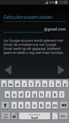 Samsung G850F Galaxy Alpha - Applicaties - Account instellen - Stap 8