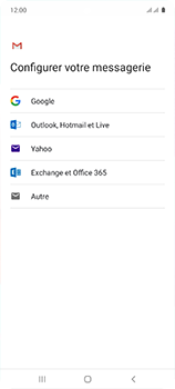 Samsung Galaxy A51 - E-mail - 032b. Email wizard - Yahoo - Étape 8