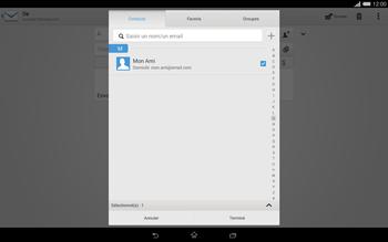 Sony Xperia Tablet Z2 (SGP521) - E-mail - envoyer un e-mail - Étape 6