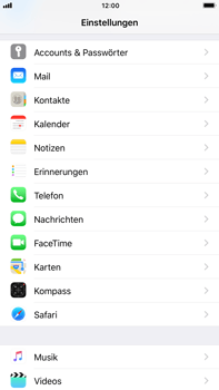 Apple iPhone 8 Plus - E-Mail - Konto einrichten - 2 / 2