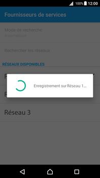 Sony Xperia Z5 Premium (E6853) - Android Nougat - Réseau - Sélection manuelle du réseau - Étape 9
