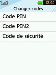 LG T580 - Sécuriser votre mobile - Personnaliser le code PIN de votre carte SIM - Étape 7