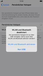 Apple iPhone 6s - iOS 13 - WiFi - So aktivieren Sie einen WLAN-Hotspot - Schritt 7