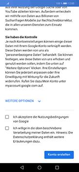 Huawei Nova 3 - Apps - Konto anlegen und einrichten - Schritt 12