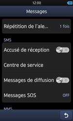 Samsung S8600 Wave 3 - SMS - configuration manuelle - Étape 5