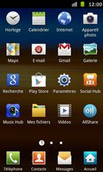 Samsung Galaxy S Advance - E-mail - Configuration manuelle - Étape 3