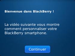 BlackBerry 9320 - Premiers pas - Créer un compte - Étape 9
