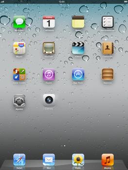 Apple iPad 2 - Primeros pasos - Activar el equipo - Paso 1