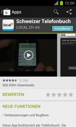 Samsung Galaxy S II - Apps - Installieren von Apps - Schritt 7