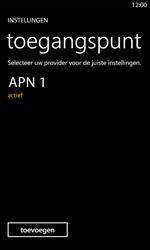 Nokia Lumia 820 LTE - Internet - handmatig instellen - Stap 11