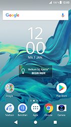 Sony Xperia XZ - Android Oreo - MMS - automatisch instellen - Stap 1