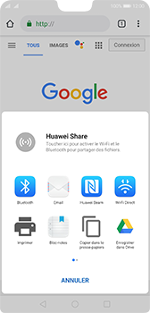 Huawei P20 - Android Pie - Internet et roaming de données - Navigation sur Internet - Étape 21